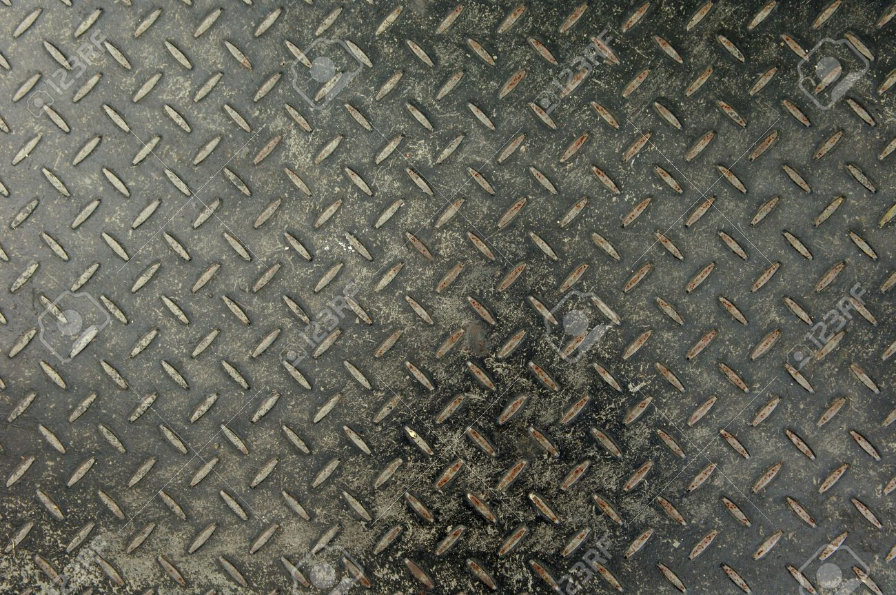 Checker plate steel 2 Stock Photo - 14063626