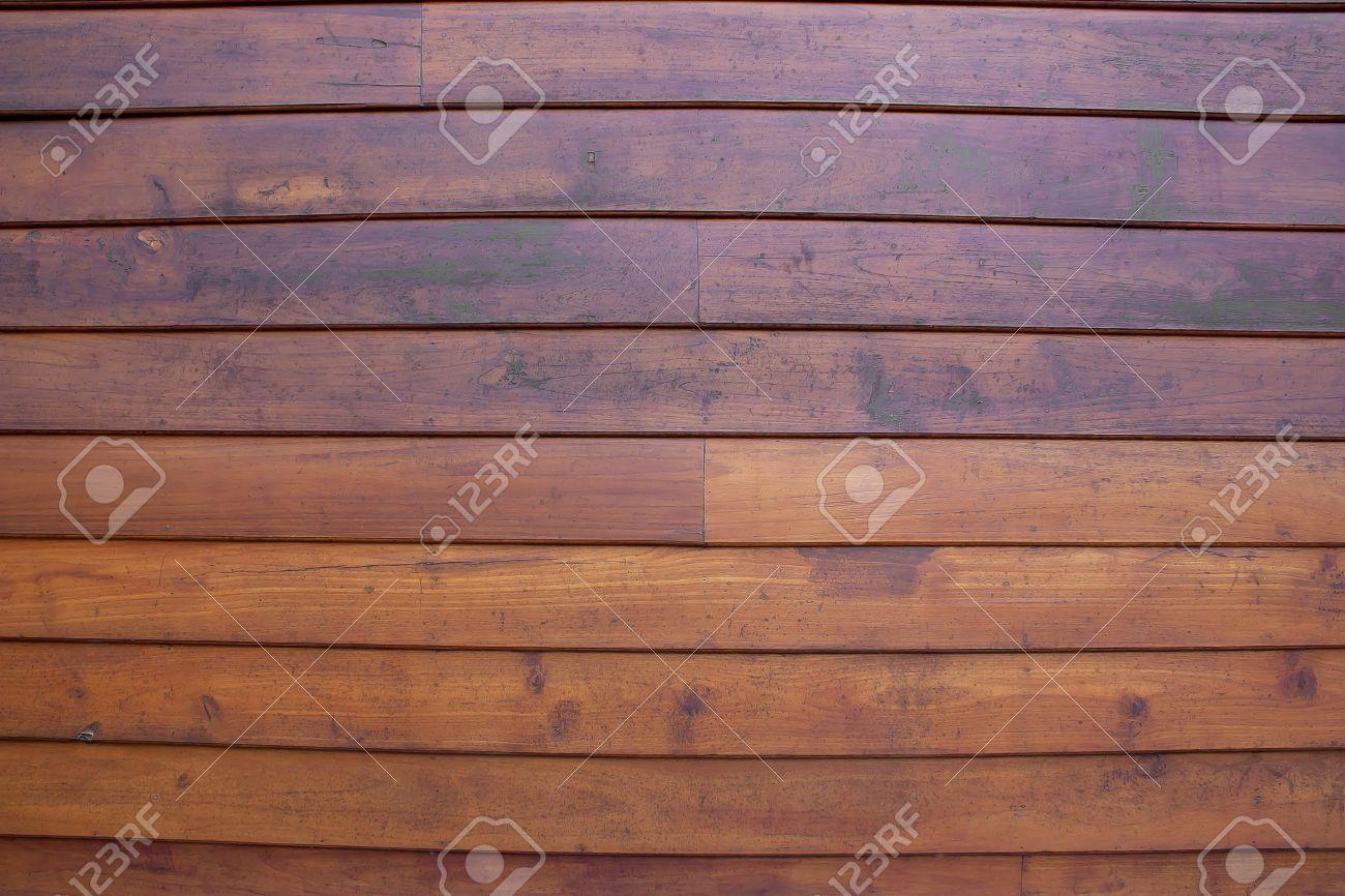 Walls, teak wood, teak wood, good to be aligned horizontally Stock Photo - 17179553