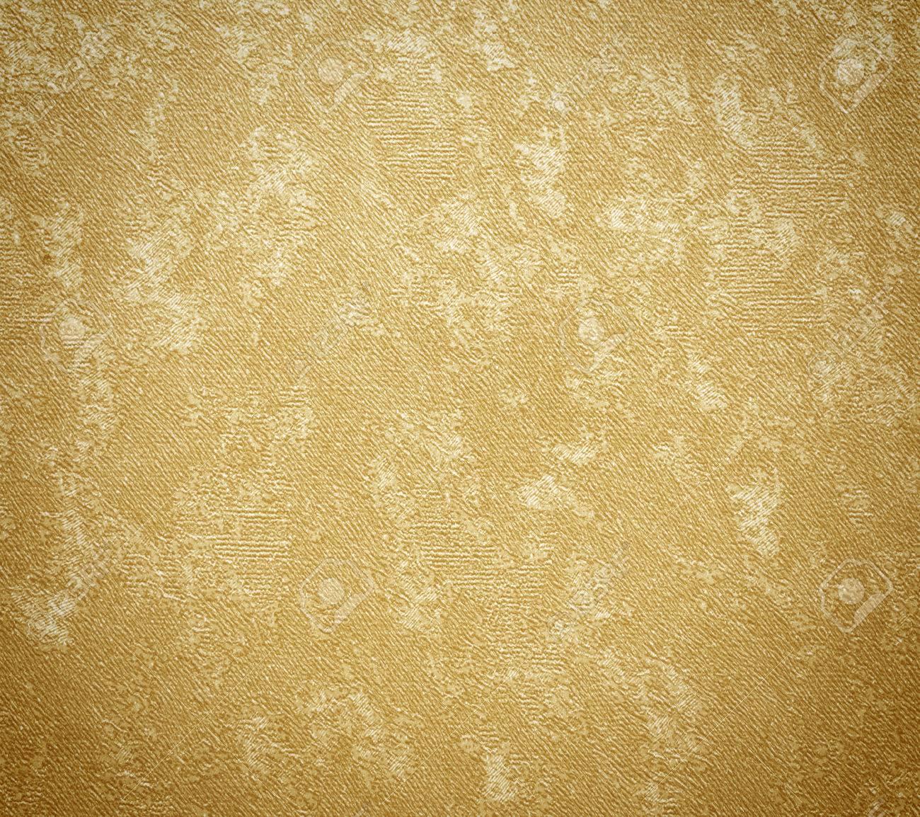 Le Papier Peint Fond Jaune Peint Vintage Decor Banque D Images Et