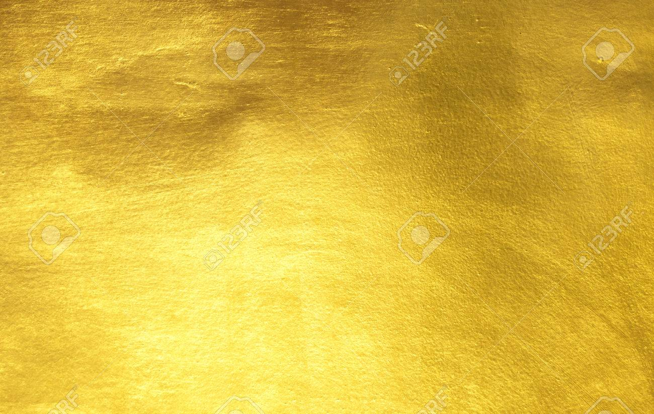 shiny yellow leaf gold foil texture background stock photo 67066710