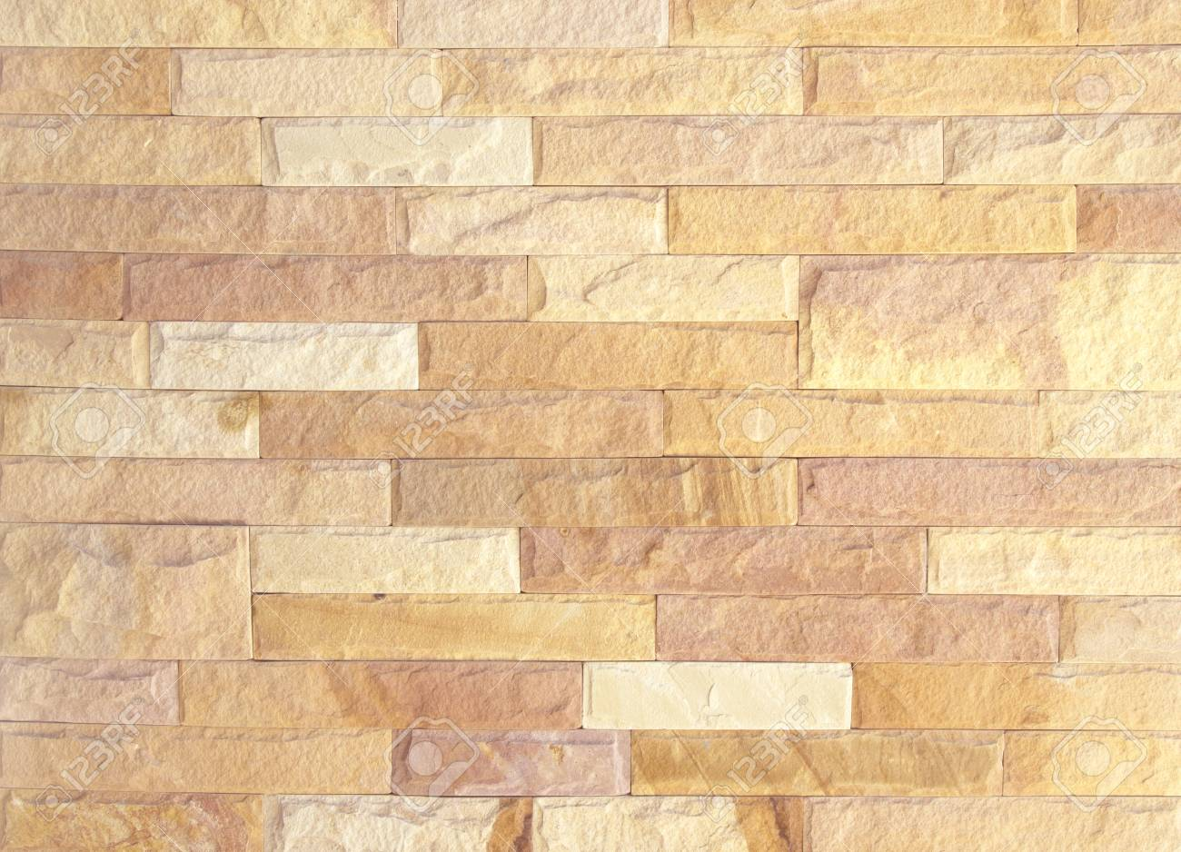 Pattern Of Decorative Stone Wall Old Background. Stock Photo ...