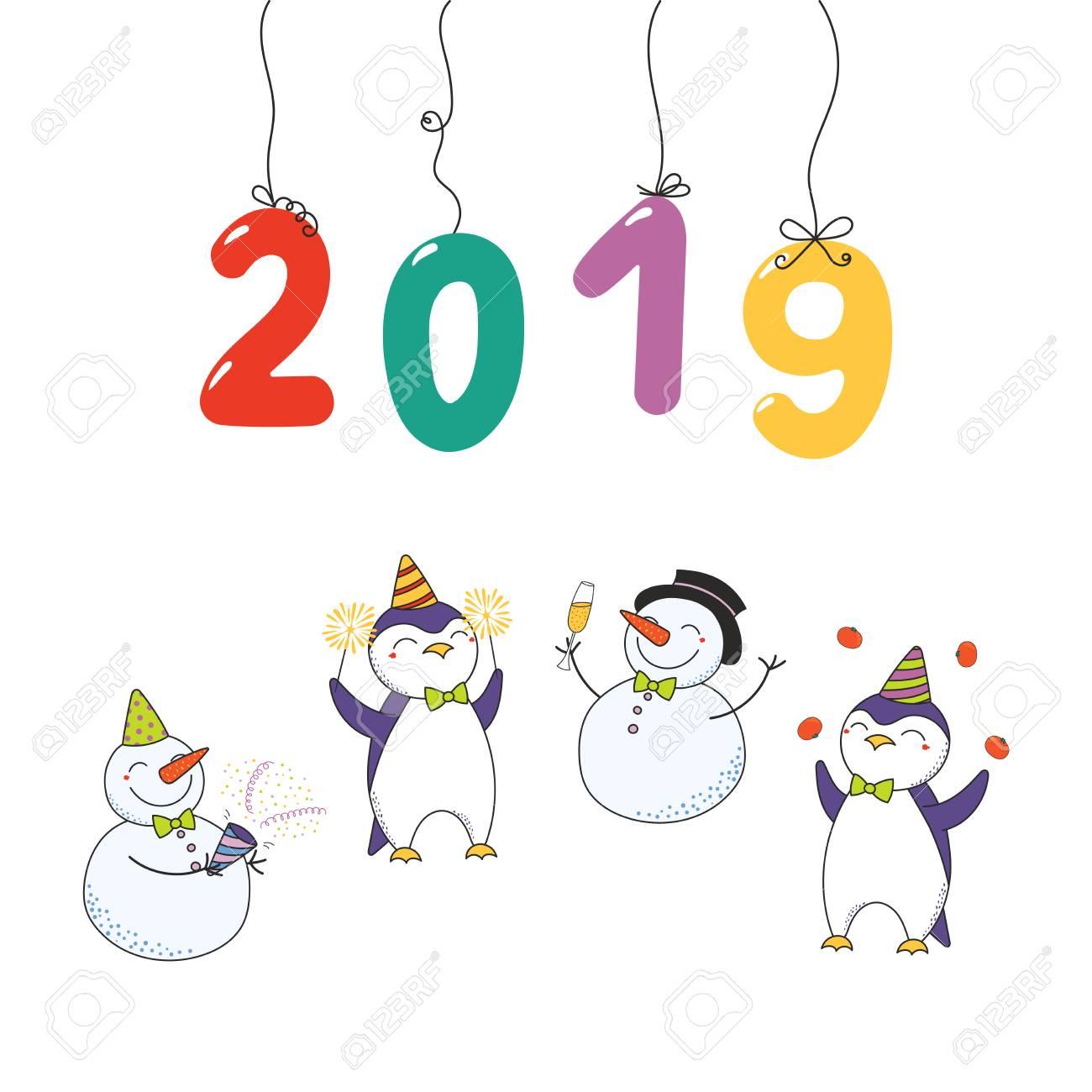 Happy New Year Cartoon 4
