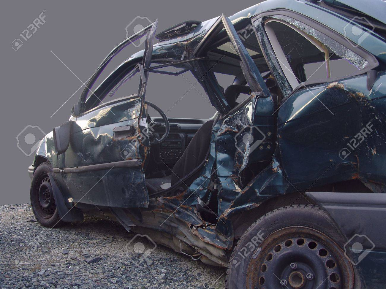 broken car Stock Photo - 1290459
