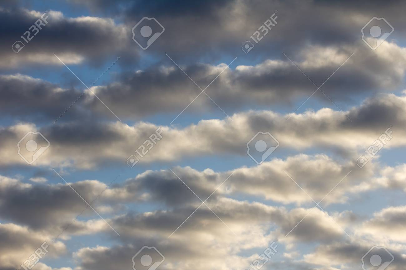 background of clouds at sunrise Stock Photo - 18360007