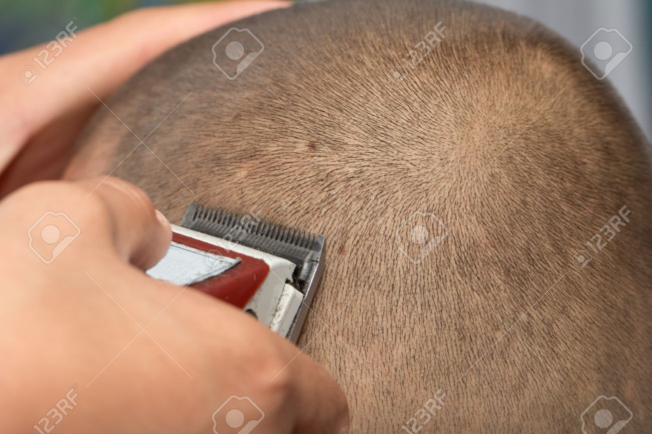 Mens Haircut Machine Stock Photo Picture And Royalty Free Image