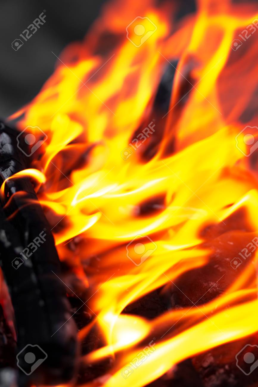 flame of fire as the background Stock Photo - 22378423