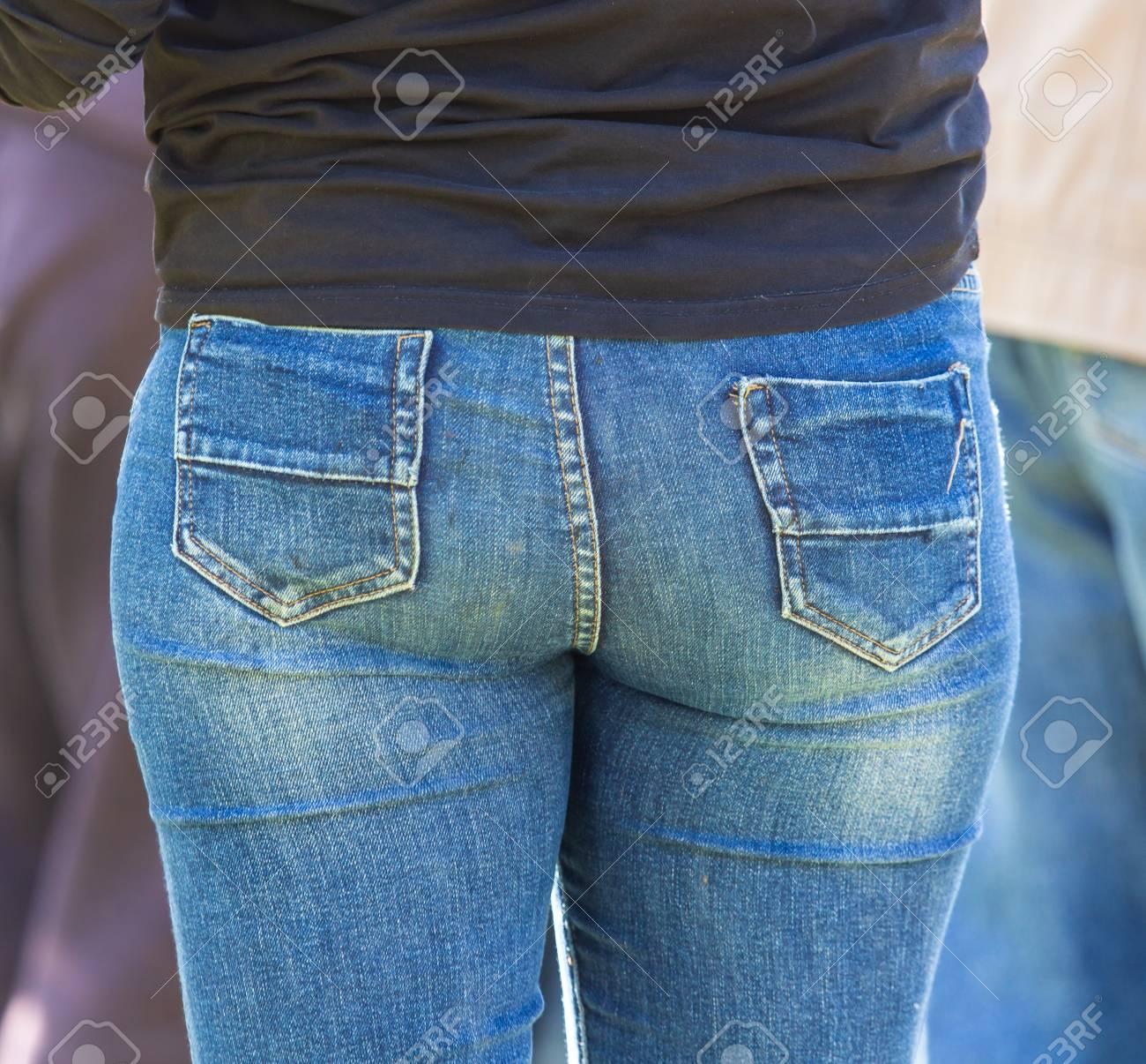 In geiler jeans arsch Free Arsch