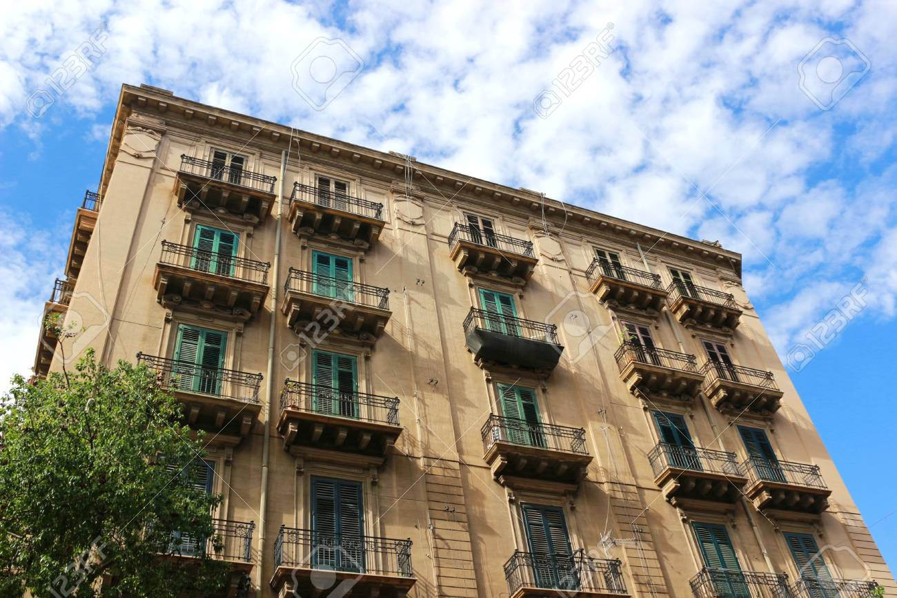 Beautiful And Large Old House In Palermo, Italy, Sicily, With ...