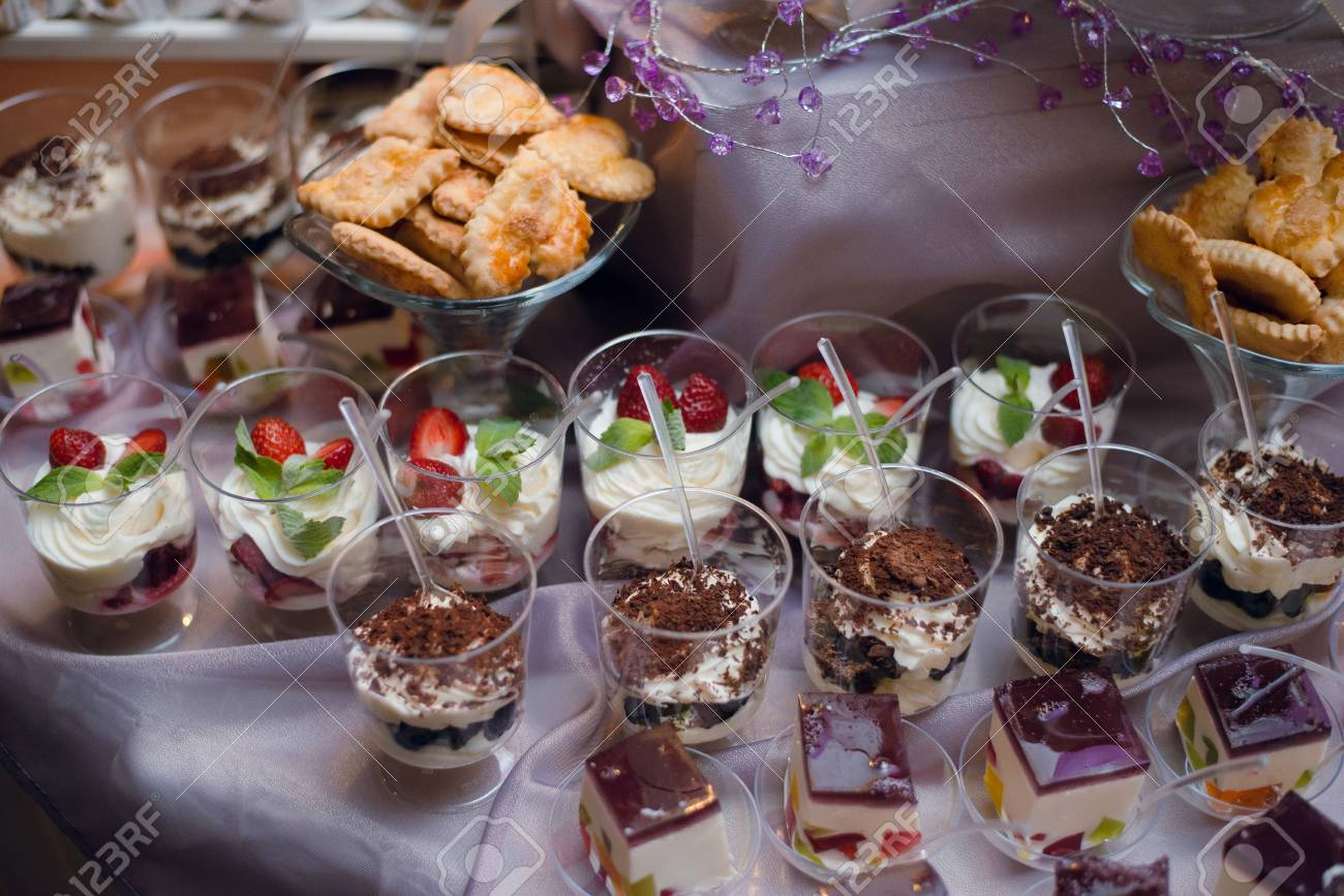 Awesome Buffet Table With Sweets And Desserts On The Table Wedding Candy Download Free Architecture Designs Osuribritishbridgeorg