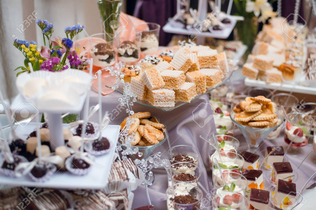 Phenomenal Buffet Table With Sweets And Desserts On The Table Wedding Candy Download Free Architecture Designs Osuribritishbridgeorg