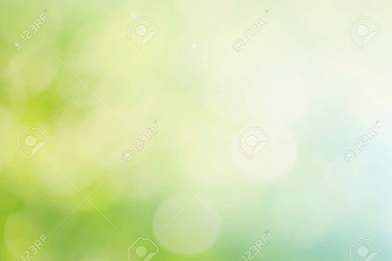 Abstract spring or summer bokeh background - 120768279