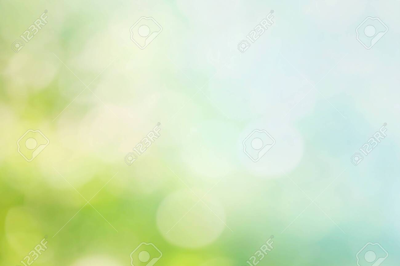 Abstract blur spring background. Bokeh - 123520121