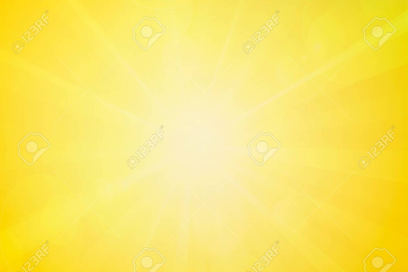 Summer or spring abstract blurry bright yellow background. - 123520263