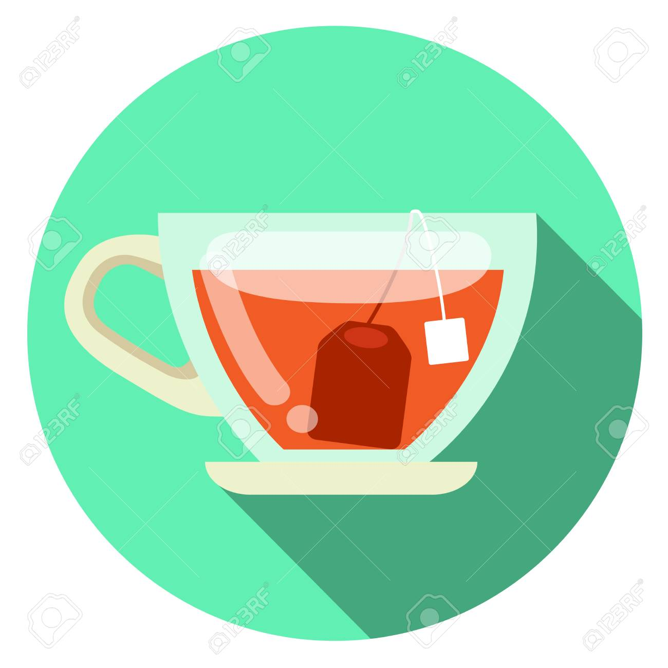 cup of tea vector flat design royalty free cliparts vectors and stock illustration image 83107713 cup of tea vector flat design