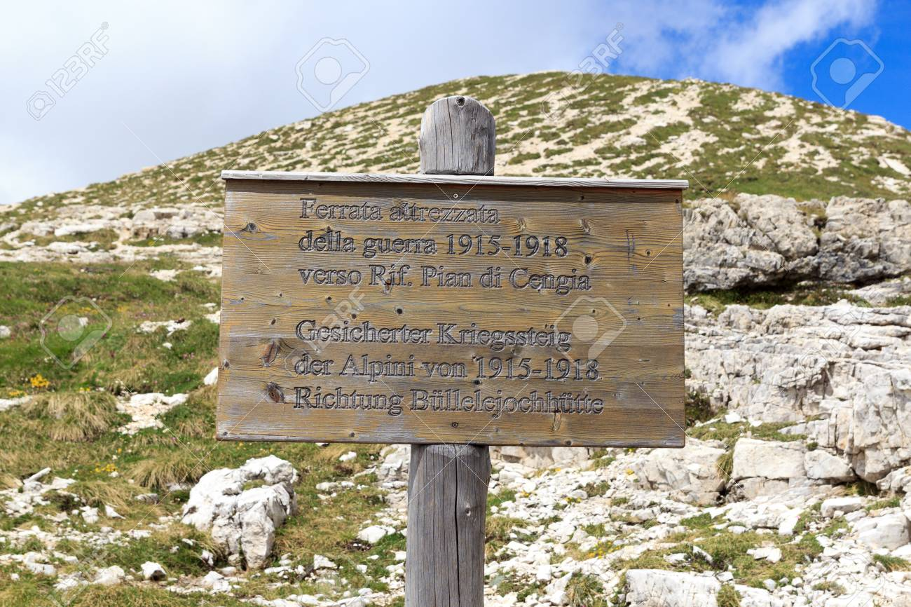 Klettersteig Italien : Klettersteig via ferrata burrone giovanelli thomas rathay