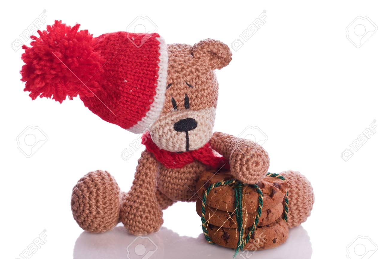 Braune Weihnachtskekse.Stock Photo