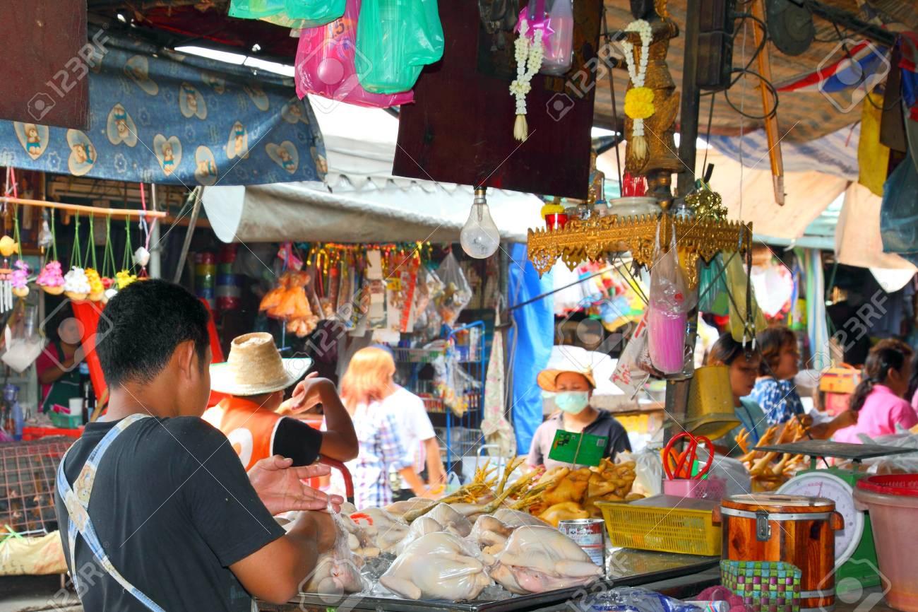 Thailand Market Stock Photo - 12716833