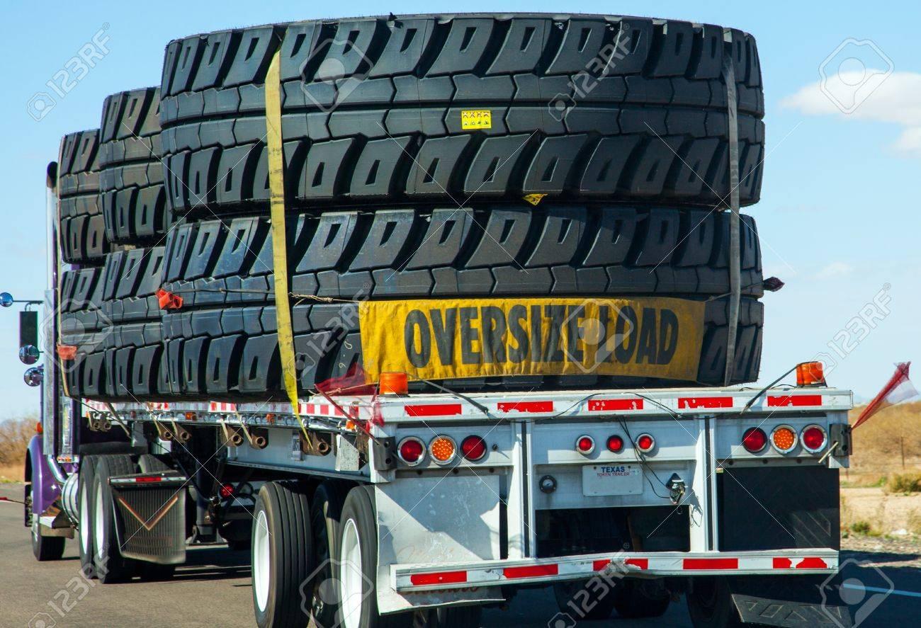 Heavy transport in USA Stock Photo - 17506824