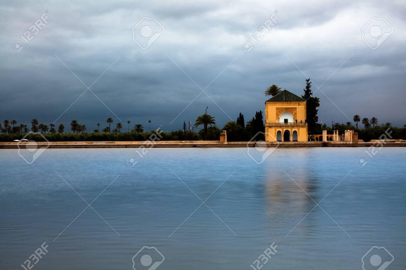 Jardin Menara Marrakech Marruecos Fotos Retratos Imagenes Y