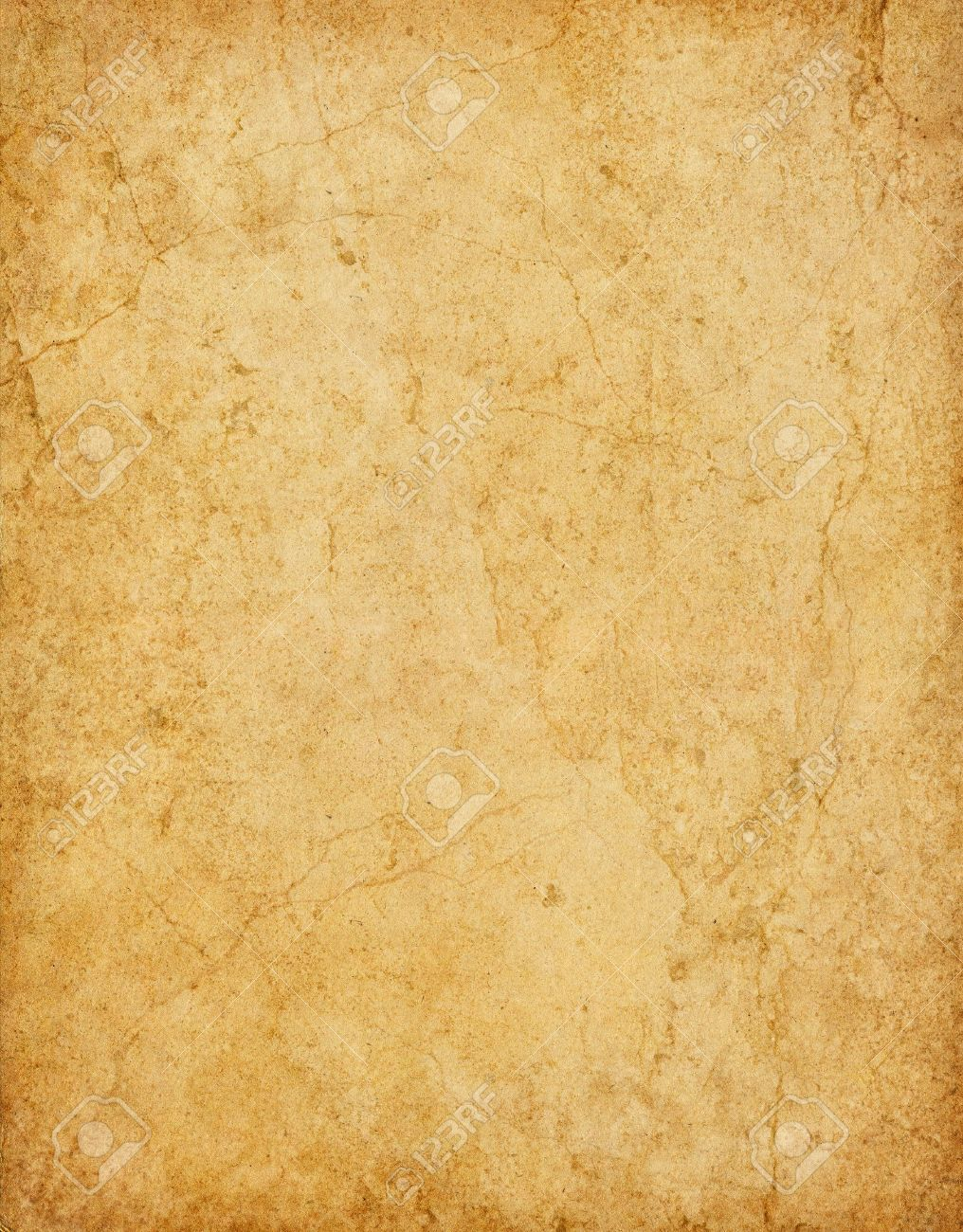 old vintage card stock paper with stains and cracks stock photo