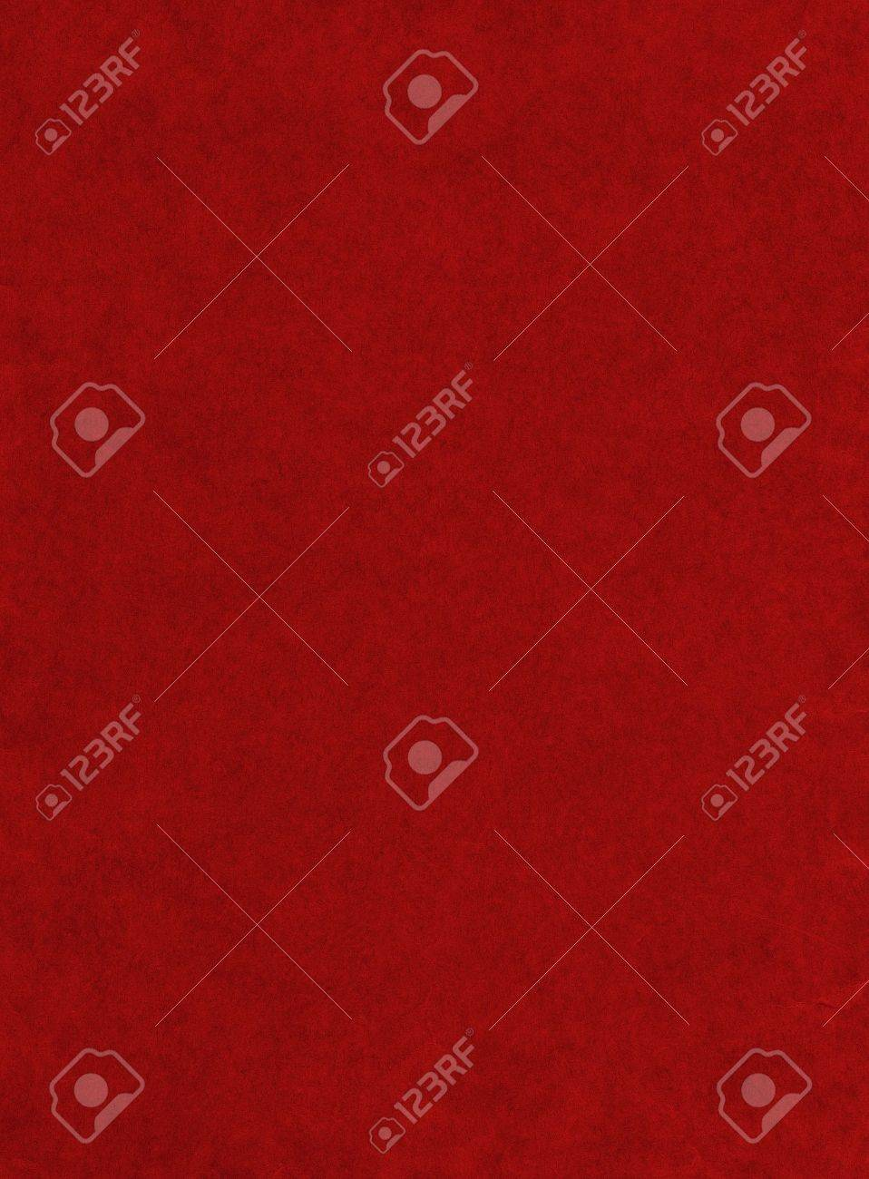 A red paper background with mottled texture; huge file. Stock Photo - 10225171