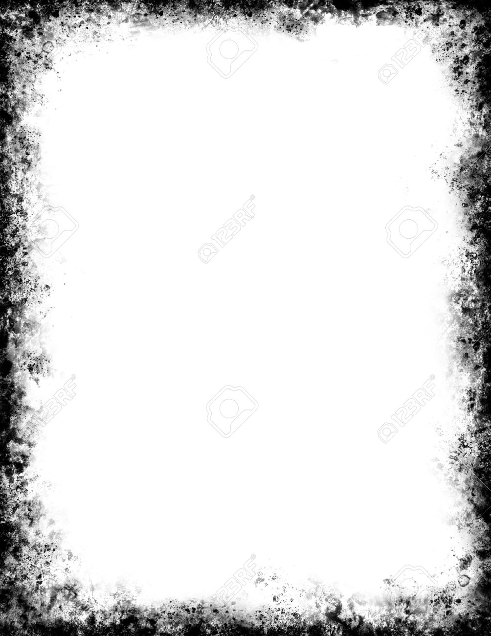 black frame. A Grungy Black Frame. Stock Photo - 10329632 Frame T