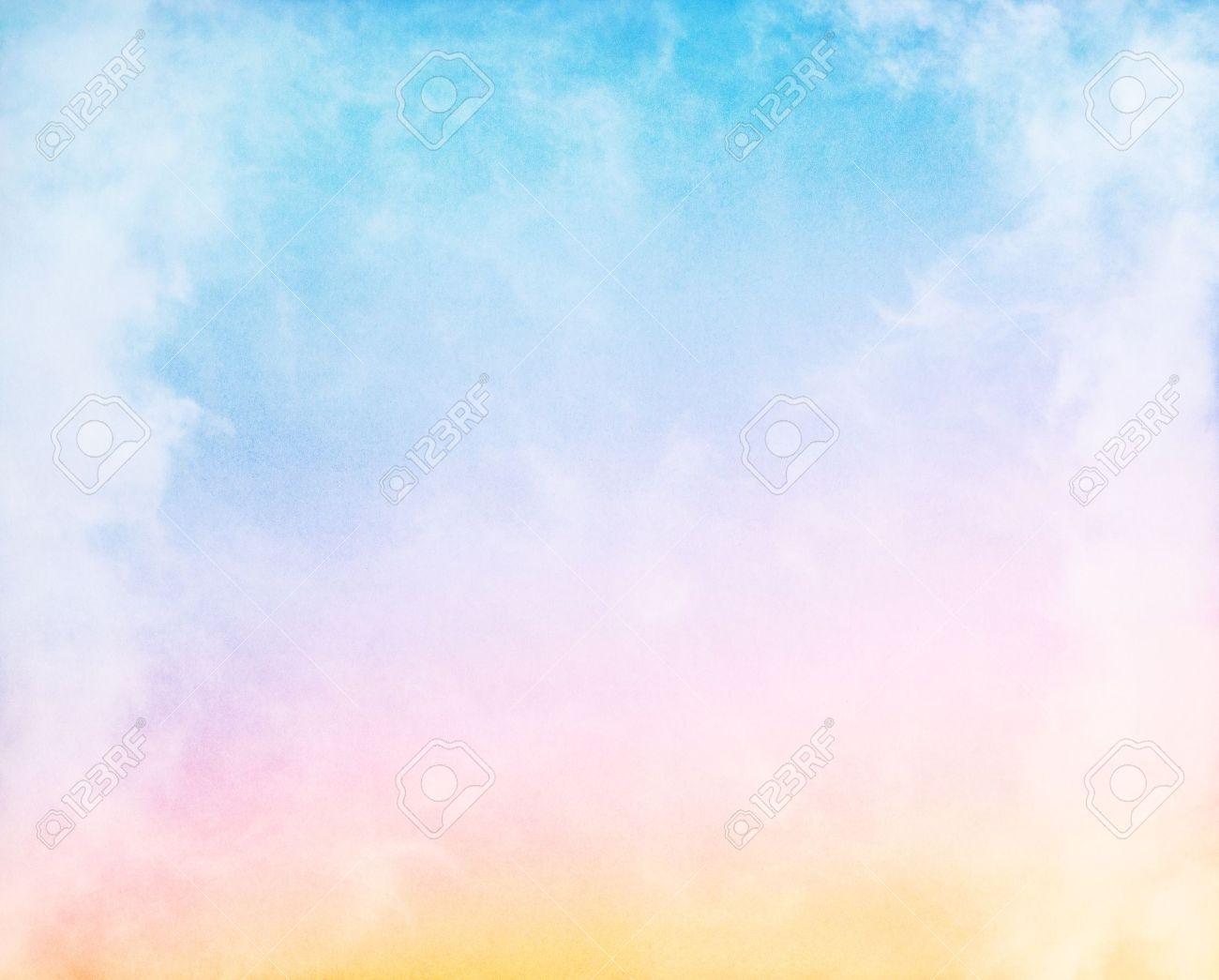 Pastel Rainbow Border