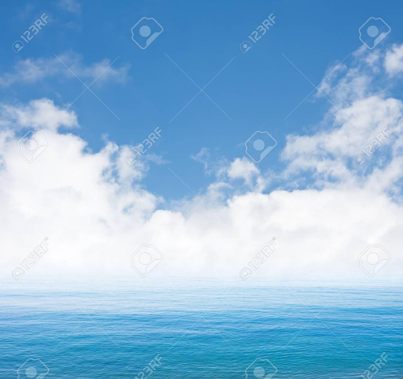 Pacífico, La Niebla Y Las Nubes A Lo Largo De La Costa De California ...
