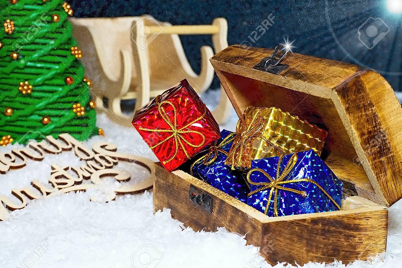 Weihnachtsgrüße Für.Stock Photo