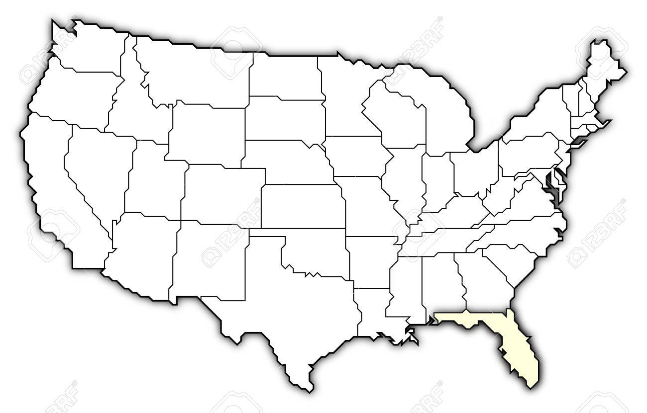Blank North America Map Google Search Teaching History Online Best - Us map with florida highlighted