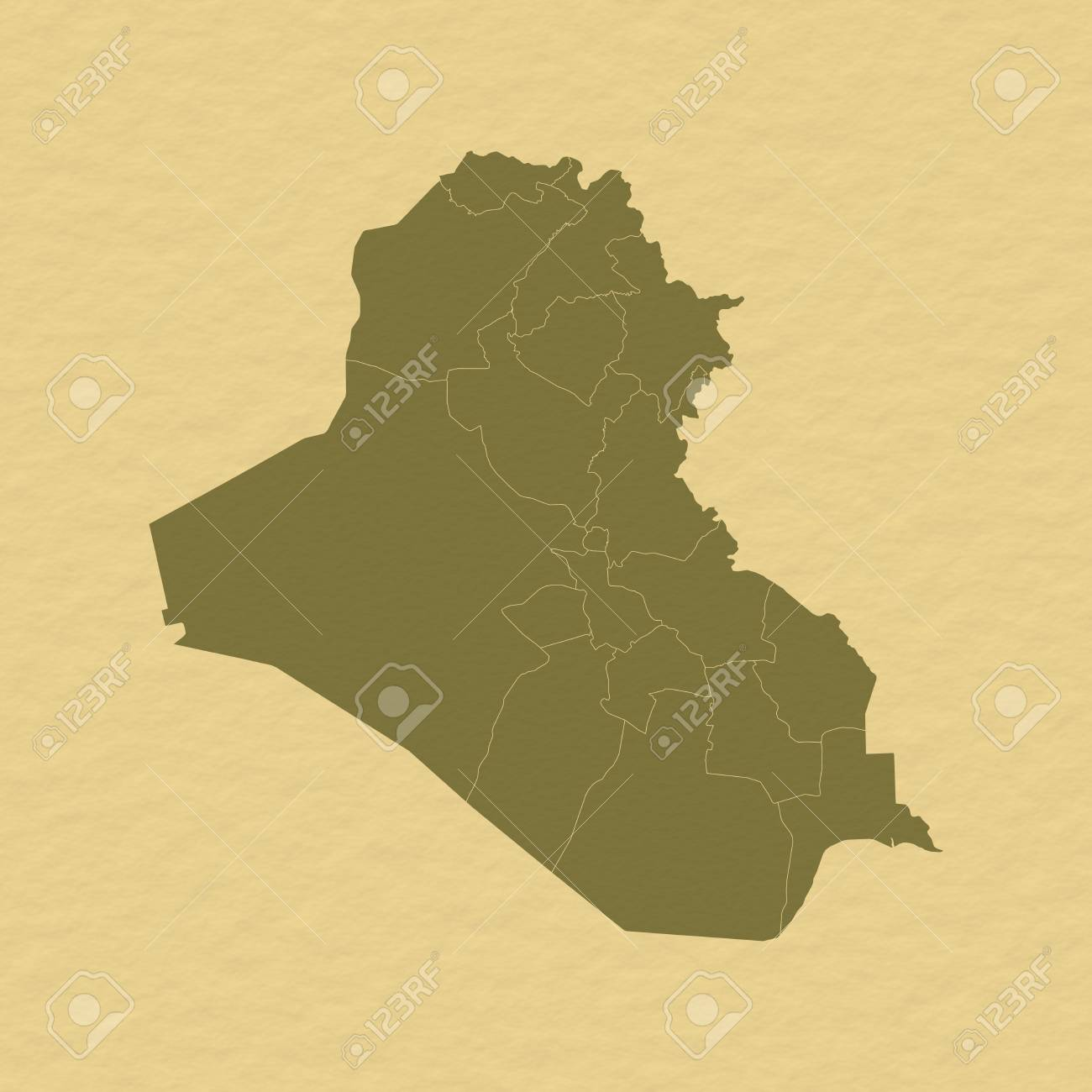 いくつかの地方行政区画とイラク...