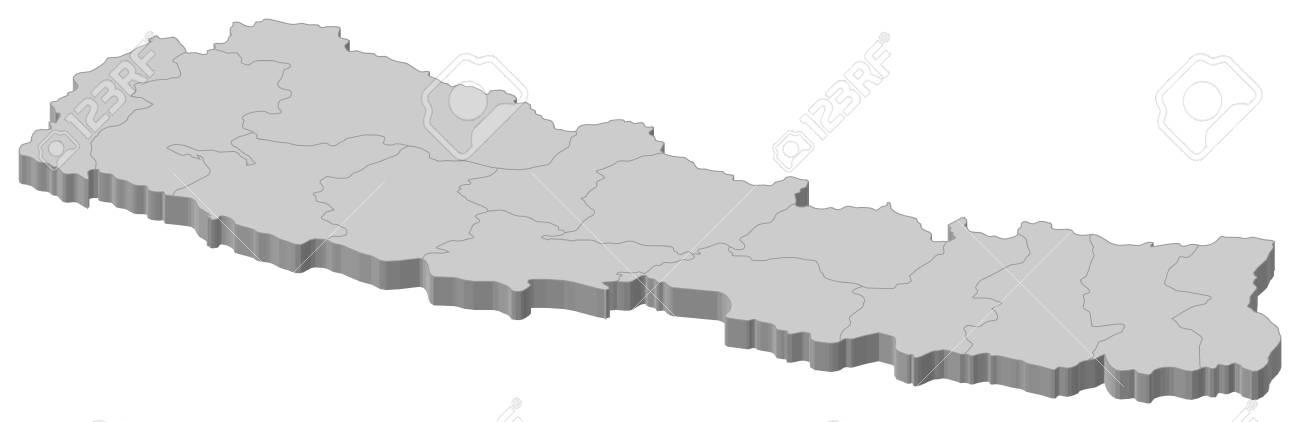 いくつかのゾーンとネパールの政...