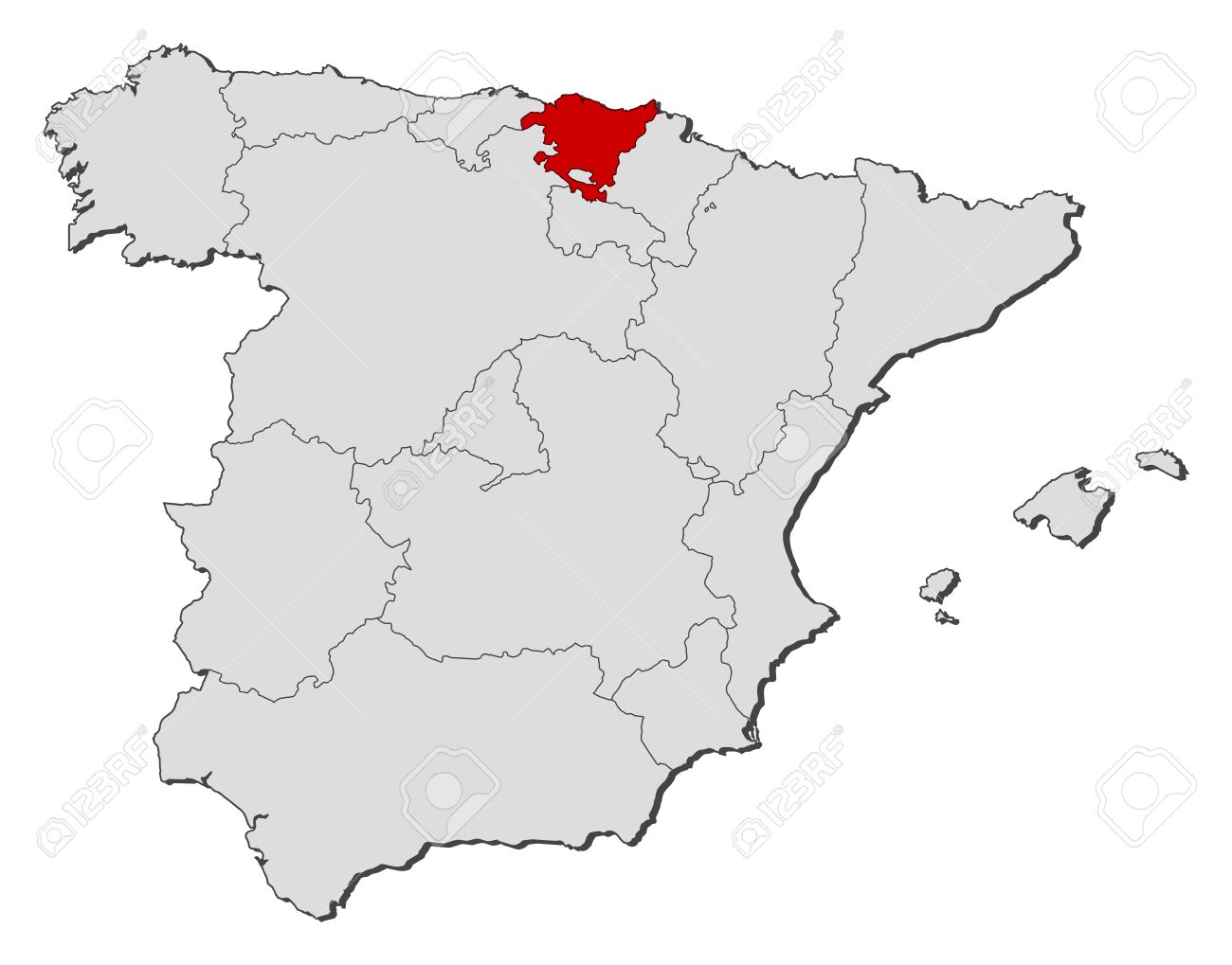 https://previews.123rf.com/images/schwabenblitz/schwabenblitz1111/schwabenblitz111101241/11346107-Political-map-of-Spain-with-the-several-regions-where-Basque-Country-is-highlighted--Stock-Vector.jpg