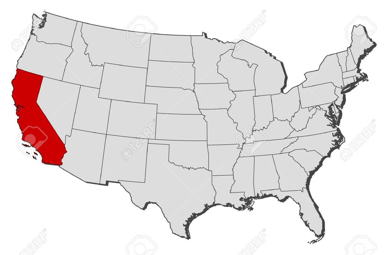 Us Maps States Californiagif California On Map California Map San Francisco Us