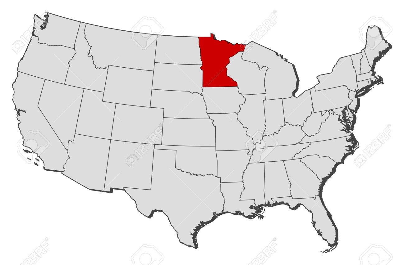 Minnesota On Usa Map – [mapusa.ticketsbox.us]