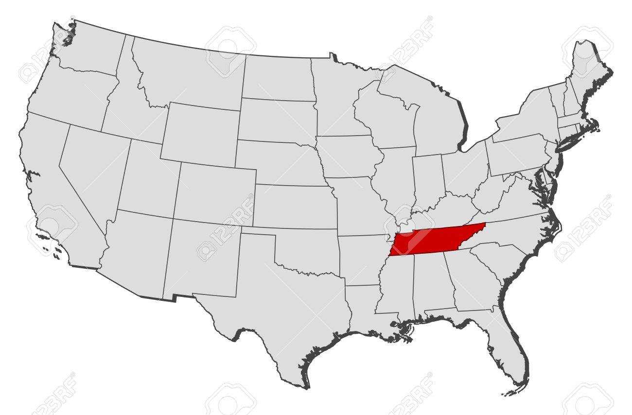 Map Of Tennessee State Map Of USA FileMap Of USA TNsvg Wikimedia - Tennessee map us