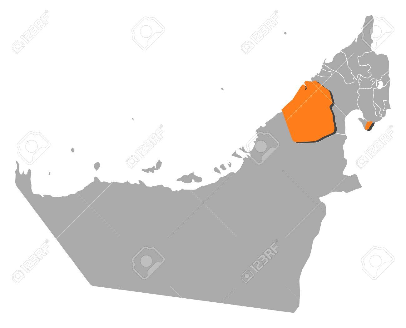 Maps Update 800592 Uae Political Map Political Map of United – Dubai United Arab Emirates Map