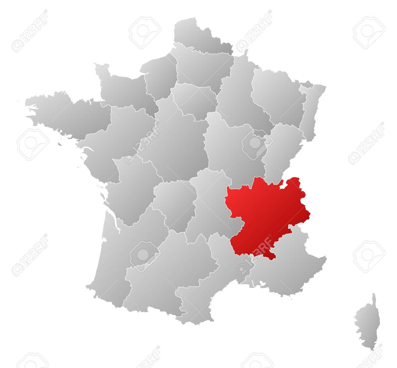 Political Map Of Southeast Asia%0A political map of france political map of france with the several regions  where rhone alpes