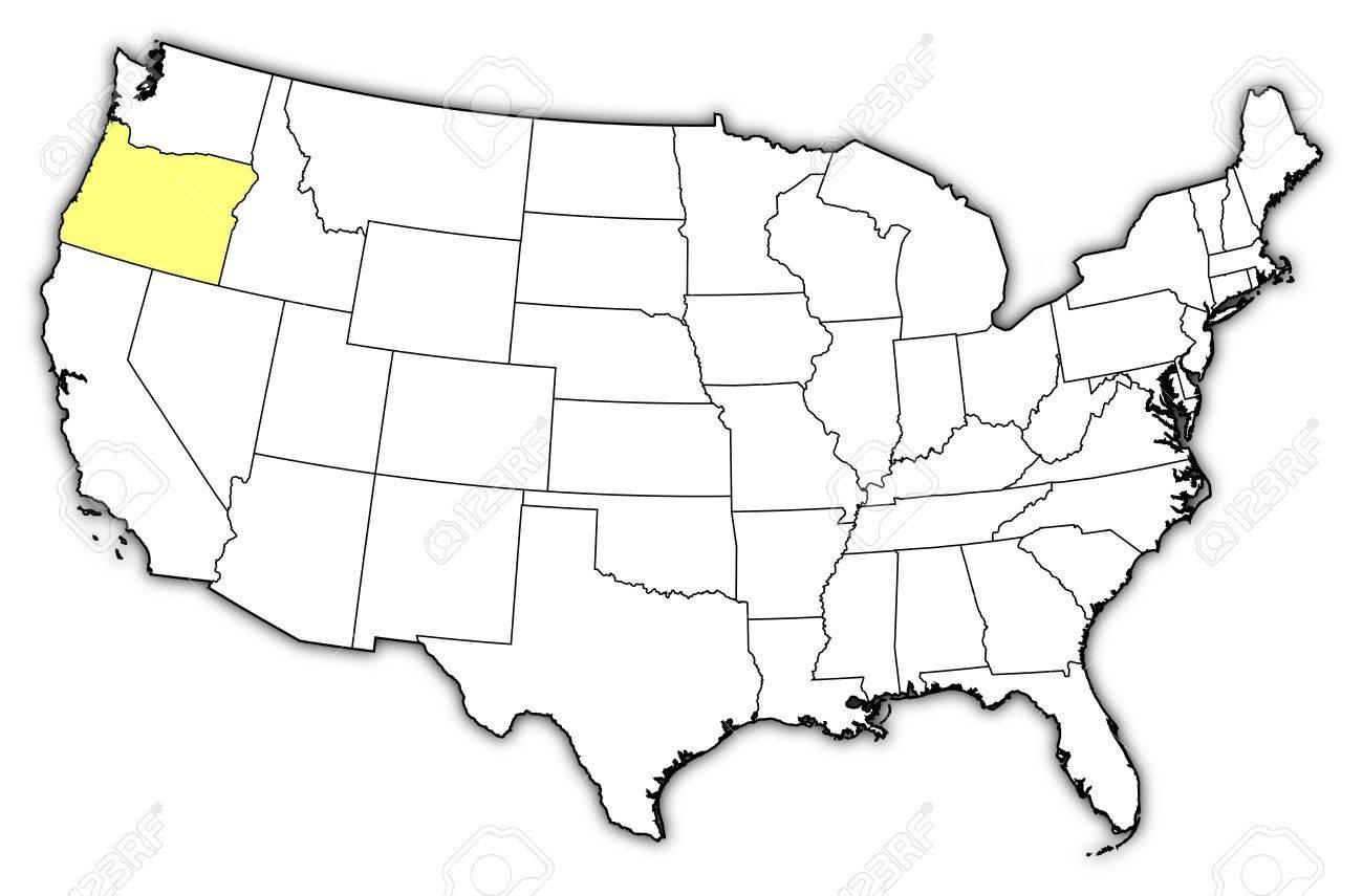 Oregon Maps And Data MyOnlineMapscom OR Maps Oregon Trail Map Map - Map of us oregon