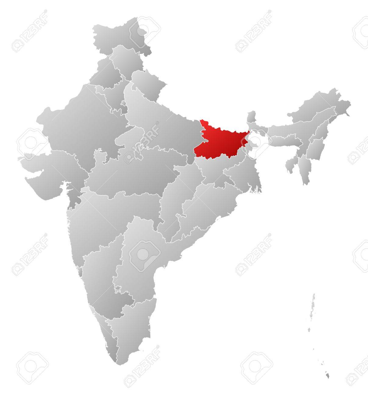Political map of India with the several states where Bihar is.. on united states map no states, india and bangladesh, india map with city, white us map with states, map showing all states, india map with himalayan mountains, germany map german states, india provinces states, india big cities and states, telangana india map with states, india bangalore palace, 2014 right to work states, india map with just states, india map with state boundaries, india map with word, us map with capitals 50 states, map of india with states, red vs. blue states map states, punjab map with states, india and its states,