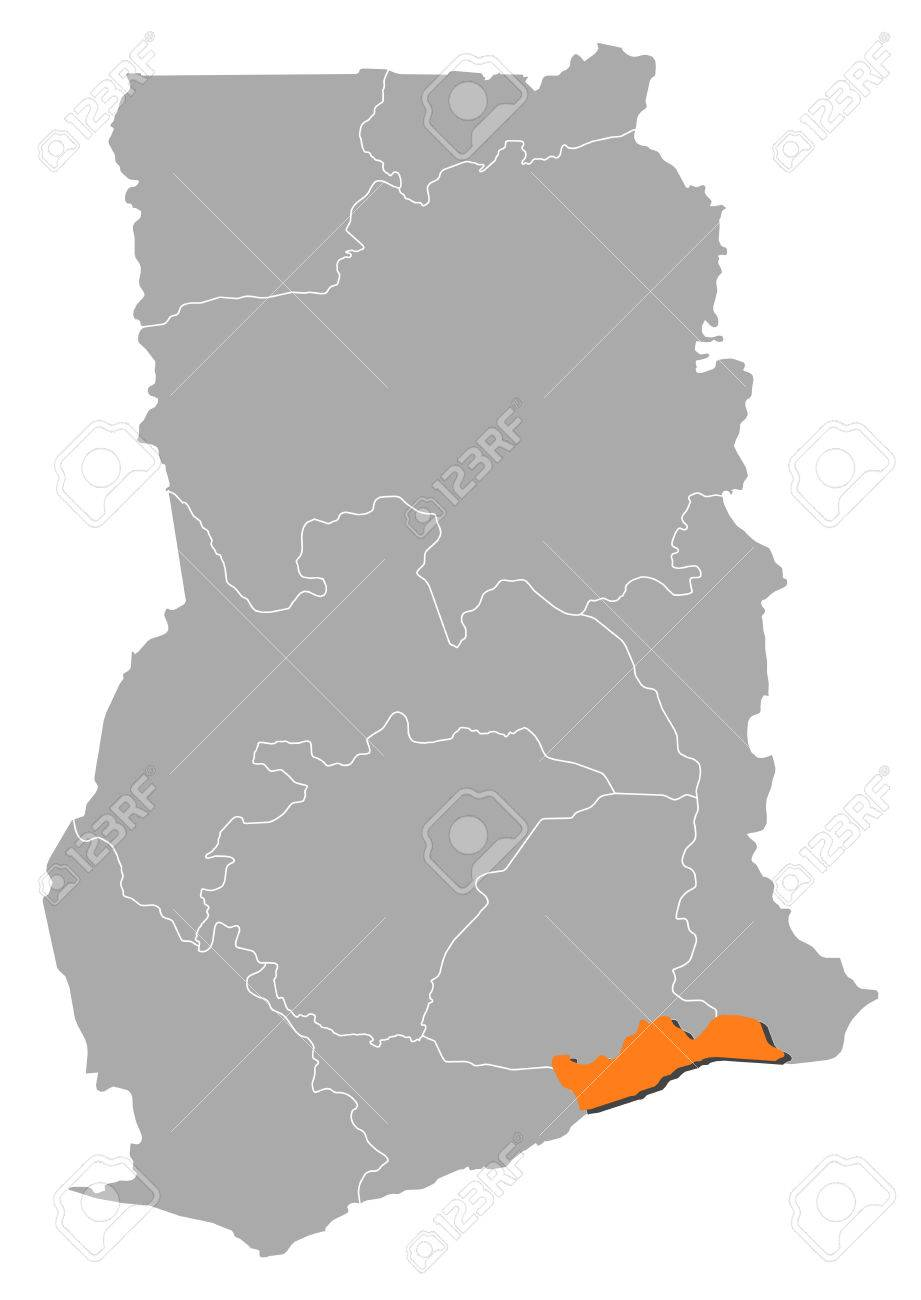 Map of Ghana with the provinces, Greater Accra is highlighted.. Ghana Map Accra on khartoum sudan map, addis ababa map, nairobi kenya map, ghana world map, greater accra map, ghana street map, osu ghana map, malabo equatorial guinea map, legon ghana map, kampala-uganda map, grand trunk road india map, lagos nigeria map, ethiopia yemen map, ghana flag map, cape town south africa map, ghana geological map, west africa map, abidjan ivory coast map, tripoli libya map,