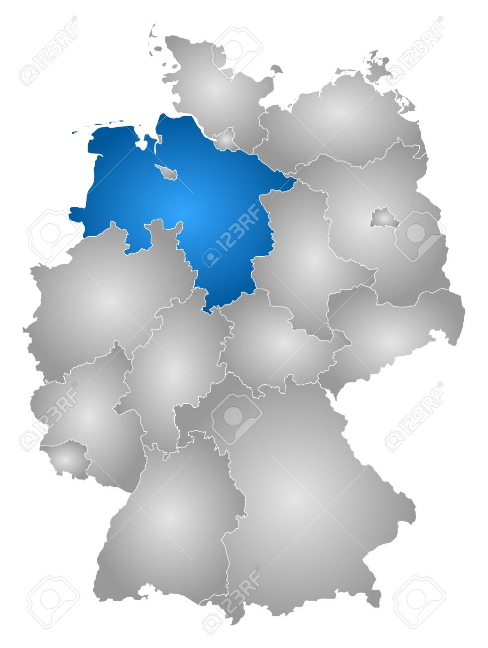 Map of Germany with the provinces, filled with a radial grant,.. Germany Provinces Map on germany industry map, germany political map, germany cities map, germany travel map, germany landmark map, germany water map, east germany map, germany major city map, germany surname map, germany country map, germany latitude map, germany power map, germany world map, germany located on map, germany road map, germany capital map, germany culture map, germany map with states, germany region map, germany postal map,