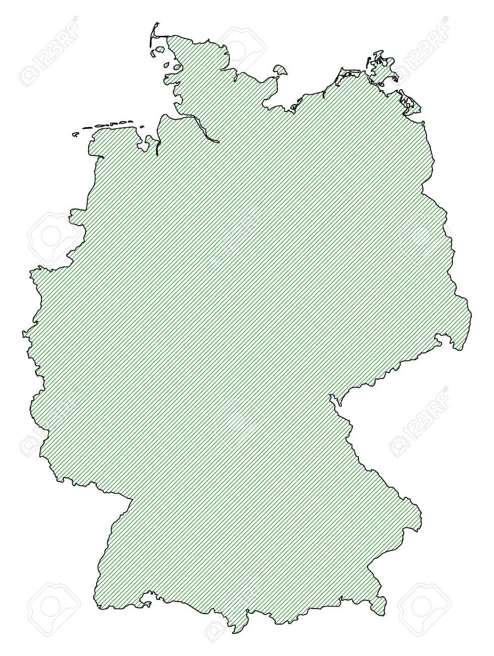 Deutschland karte linien Fernbuslinien Deutschland