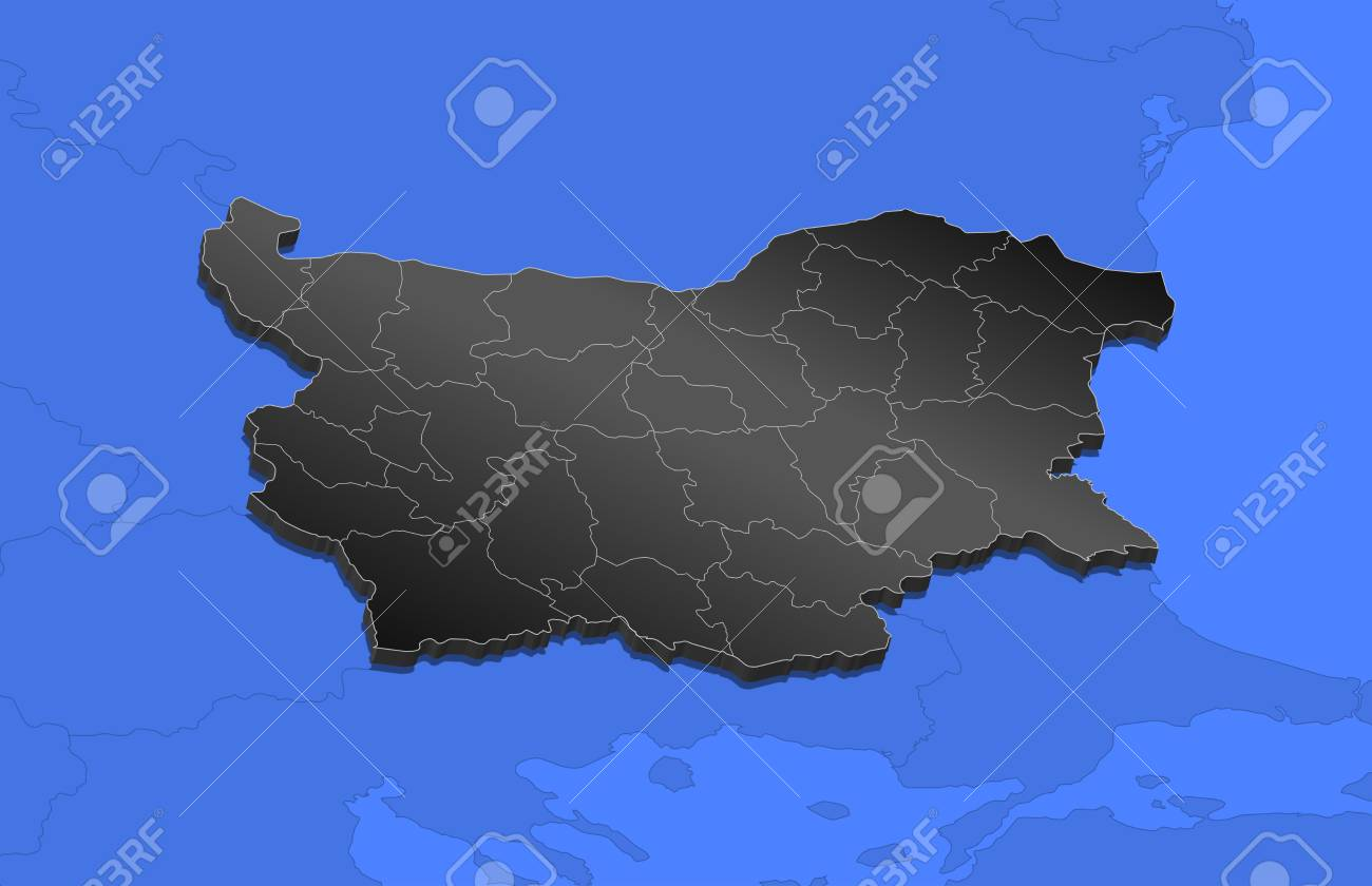Map of bulgaria and nearby countries bulgaria as a black piece map of bulgaria and nearby countries bulgaria as a black piece stock vector gumiabroncs Image collections