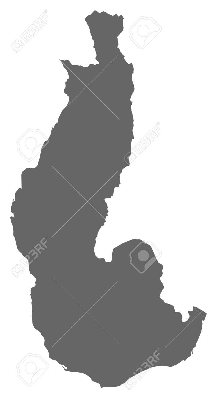 Map Of Toliara, A Province Of Madagascar. Royalty Free Cliparts ...