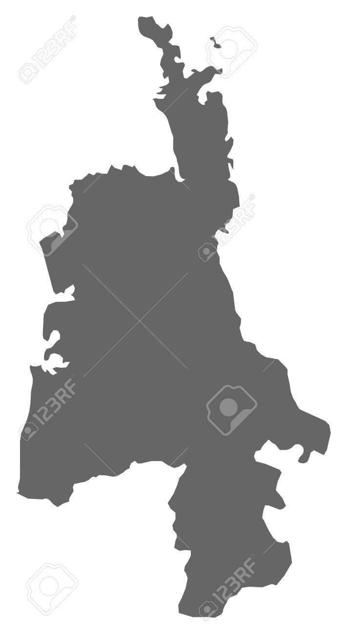 Waikato New Zealand Map.Map Of Waikato A Province Of New Zealand