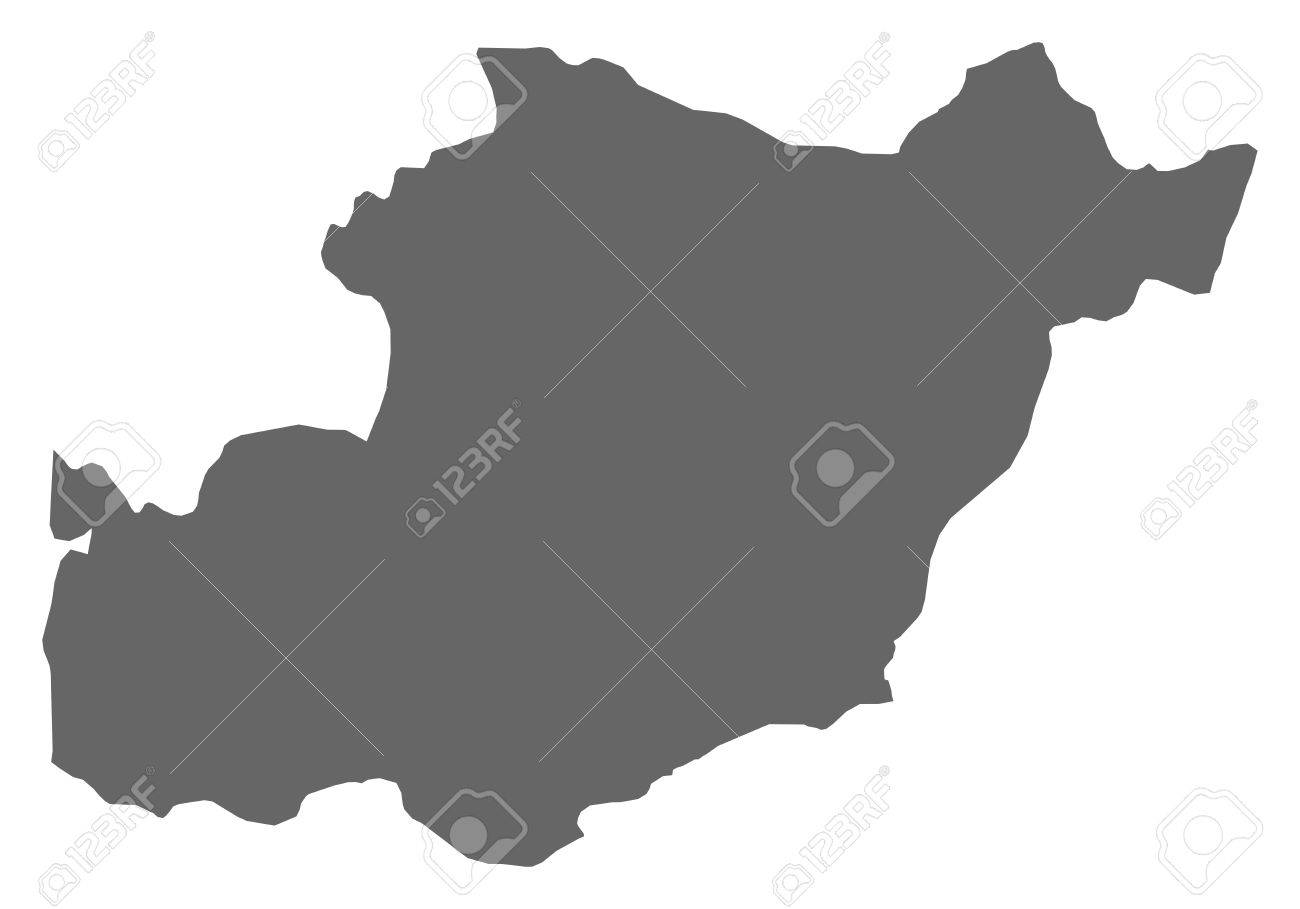 Map Of Beja A Province Of Portugal Royalty Free Cliparts - Portugal beja map