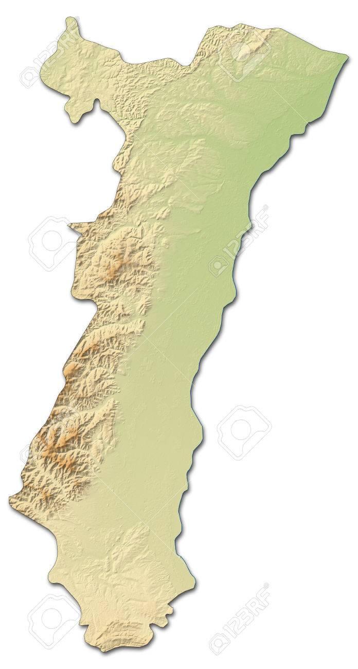 Carte Lalsace.Carte Du Relief De L Alsace Une Province De La France Avec Relief
