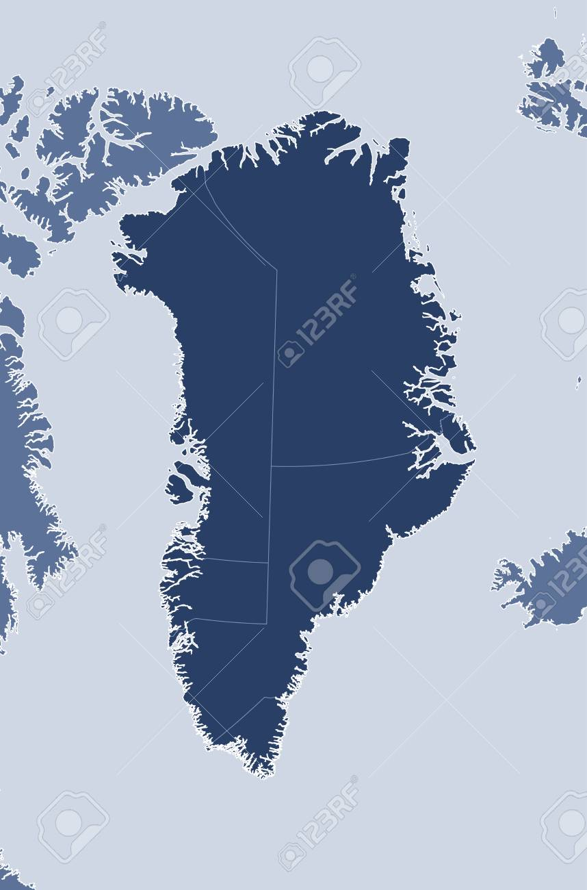 Map of greenland and nearby countries greenland is highlighted map of greenland and nearby countries greenland is highlighted stock vector 66896280 gumiabroncs Image collections