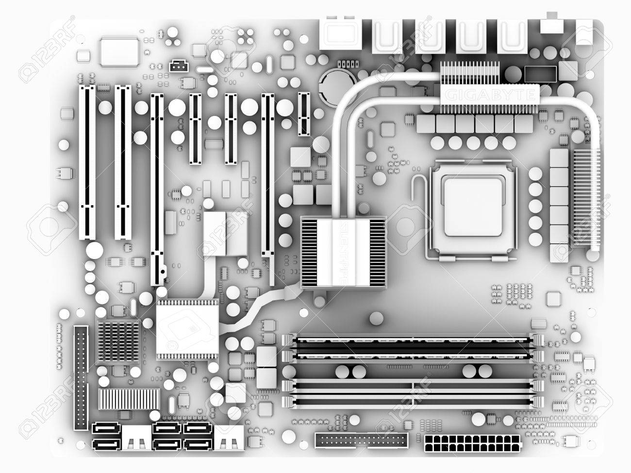 motherboard computer artwork of the main circuit board (motherboardmotherboard computer artwork of the main circuit board (motherboard) of a personal computer (pc) motherboard components include transistors,diodes,resistors